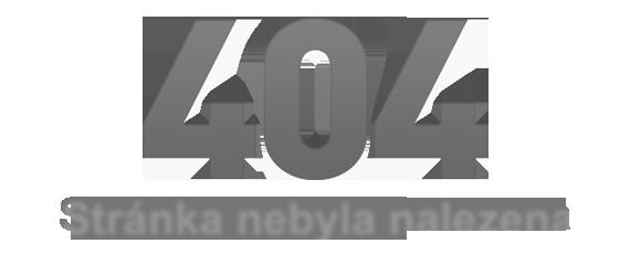 Chyba 404: Stránka nebyla nalezena